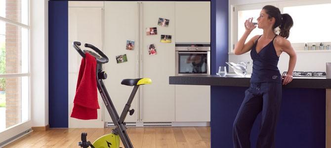 Tornare in forma con la cyclette